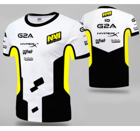 Camisa oficial natus vincere s1mple